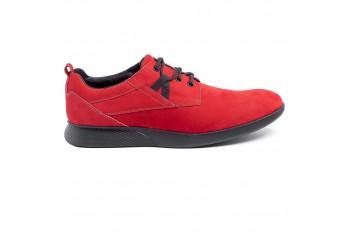Buty męskie czerwone